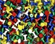 Assorted Coloured Push Pins Approx. 50pc Notice Cork Board