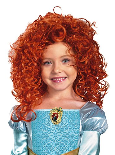 Disguise Costumes Disneys tapfere Merida Kinder lockige, rote ()