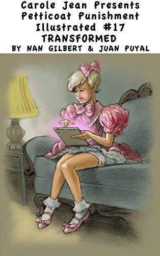 boys petticoats spanked in