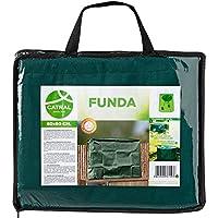 Catral 57010036 Funda TV para Exterior, Verde, 60x15x90 cm