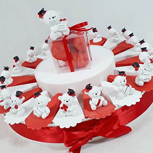 Sindy bomboniere torta bomboniera laurea con orsetti in 4 diverse varianti spedizione inclusa sb