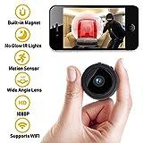 Athena Security Hidden Spy Camera WIFI Wireless 1080P HD Mini Spy Nanny Cam