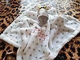Schmusetuch Kuscheltuch Giraffe Schnuffeltuch für Mädchen mit Namen bestickt