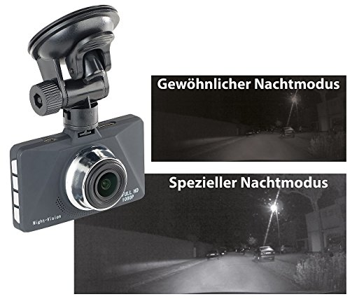 NavGear Kfz Dashcams: Full-HD-Dashcam MDV-2900 mit erstklassiger...