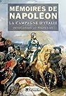Mémoires de Napoléon (Tome 1) - La campagne d'Italie par Bonaparte