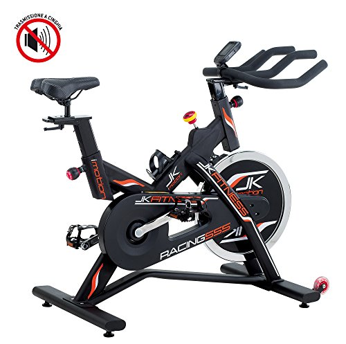 JK Fitness JK555 Indoor Cycle, Nero