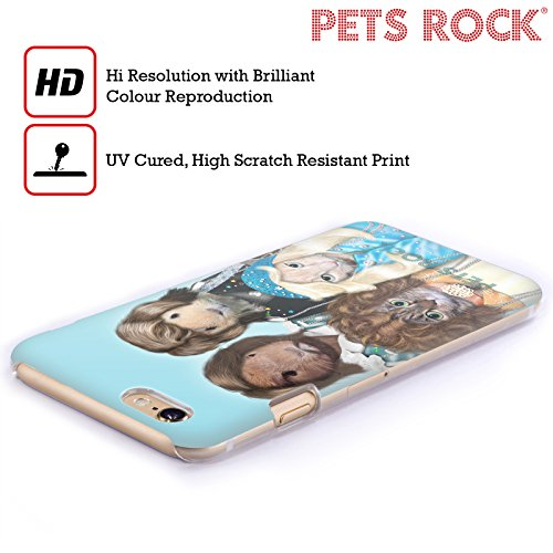 Ufficiale Pets Rock Vegas Musicisti 2 Cover Retro Rigida per Apple iPhone 6 / 6s Waterloo