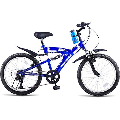 Hero Sprint 20T Elite 6 Speed Junior Cycle, Boy's (Blue)