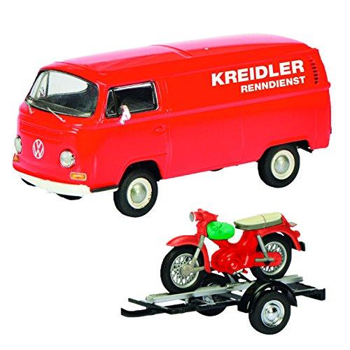 """Preisvergleich Produktbild Schuco 450334000 - Modellauto Set """"VW T2A Kreidler-Service"""" 1:43"""