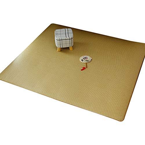 SXFYWYM Crawling Baby Matte Sommer Schweiß Absorption Teppich Stroh Matte für Wohnzimmer Schlafzimmer (nur Teppich),Color,150X180CM (Schlafen Stroh-matte)