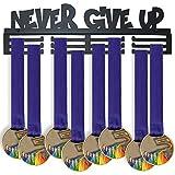 WEBIN Sport Medaille Aufhänger Display Rack,Never GIVE UP Medaille Display Medal Hanger Holder