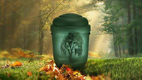 Biologisch abbaubar Verbrennung Asche Urne–Erwachsene Größe–Muster,–Birke Baum (Birke Spindeln)