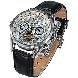 Ingersoll IN1310SL - Reloj para hombres, correa de cuero