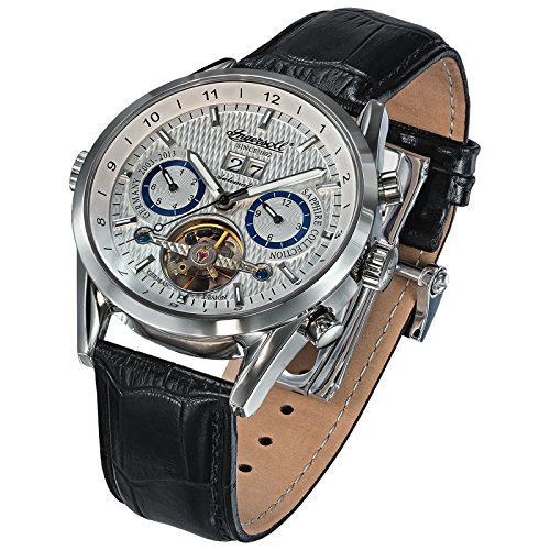 Ingersoll Brandenburger Gate Men's Automatic Watch black/silver IN1310SL