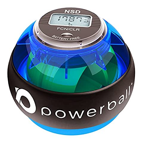 New NSD Powerball 280Hz Pro Hand Exerciser & Grip Strengthener For Powerful Forearm Workouts, Wrist & Hand Grip Strengthening, Finger Exerciser