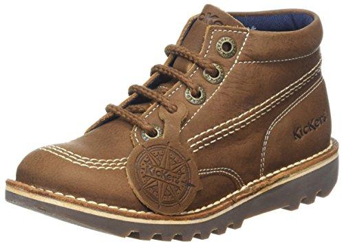 Kickers Boys' Kick Hi Lthr Jm Boots, Brown (Brown), 13 UK 32...