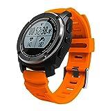 Reloj Elegante Bluetooth al Aire Libre Relojes Inteligentes Posición Profesional del GPS Carrera de montaña Jogging Temperatura del Ritmo cardíaco Presión de Desgaste Inteligente