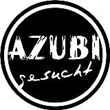 Wandtattoo - 'AZUBI gesucht' - Beruf, Ausbildung, Karriere, Jobsuche, Lehrstelle // Farb- und Größenwahl (Dunkelrot - 300 mm x 300 mm)