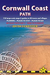 Cornwall Coast Path: (Sw Coast Path Part 2) British Walking Guide with 130 Large-Scale Walking Maps, Places to Stay, Places to Eat (British Walking Guide Cornwall Coath Path Bude to Plymouth)