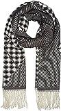 Jennyfer 10011 Echarpe, Noir/Blanc, Unique (Taille Fabricant: 0) Femme