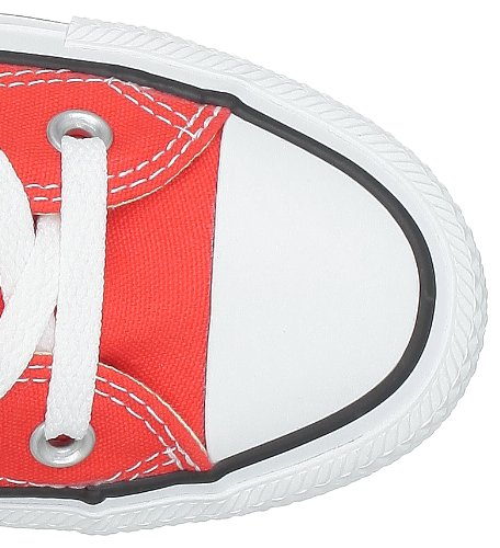 Converse All Star Hi, Sneaker Unisex-Adulto Rosso (Rot)