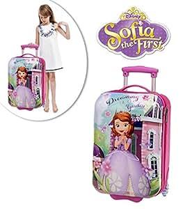 Valise de voyage rigide - PRINCESSE SOFIA Disney - avec deux roues et poignée réglable 48 x 30 x 20 cm 4031151– MWS1654