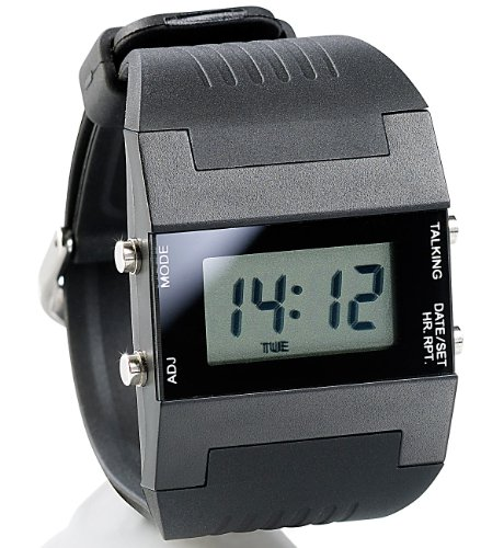 St. Leonhard Damen Uhr Digital Digitales Quarzwerk mit Kunststoff Armband W206D