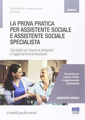 La prova pratica per assistente sociale e assistente sociale specialista