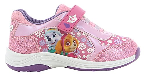 Paw Patrol Girls' Kids Athletic Sport Fitness Shoes, Various Colours (Pink/Fuchsia/P. Pink/Dark Pink), 11UK Child