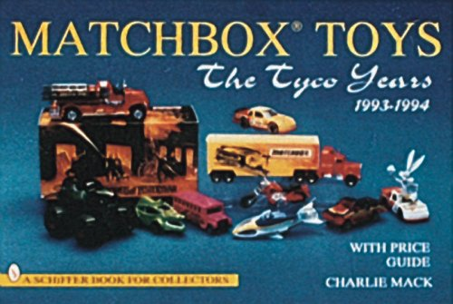 lesneys-matchbox-toys-the-tyco-years-1993-94-a-schiffer-book-for-collectors