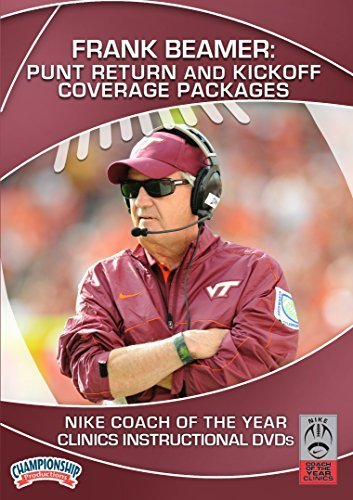 Preisvergleich Produktbild Frank Beamer: Punt Return and Kickoff Coverage Packages (DVD) by Nike Coach of the Year Clinics