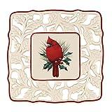 #7: Lenox Winter Greetings Pierced Trivet