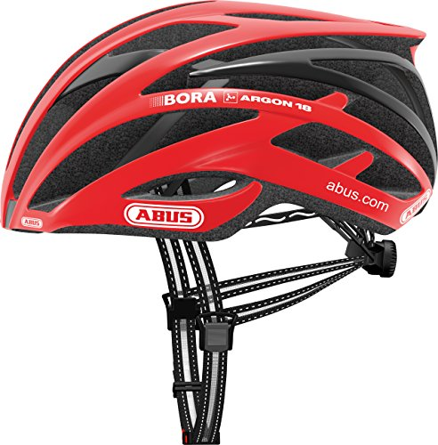 Abus Tec-Tical Pro 2.0 – Casco para Bicicleta, Unisex, Color Rojo, tamaño Medium
