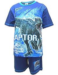 a1b540878b Jurassic World Jungen Schlafanzug Offiziell Raubvogel Dinosaurier kurze  Pyjama Größen von 4 bis ...
