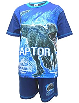 Jurassic World Raptor Pijama shortie niño