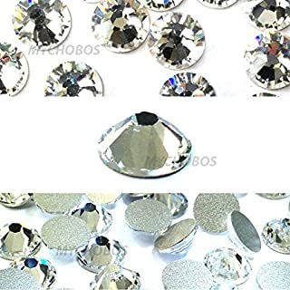 Zipperstop Crystal (001) Clear Swarovski New 2088 XIRIUS Rose 20ss 5mm Flatback No-Hotfix Rhinestones ss20 144 pcs (1 Gross) from Mychobos (Crystal-Wholesale)*