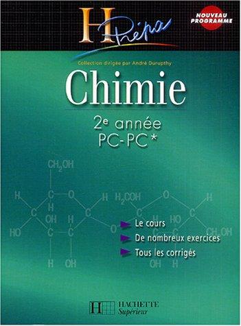 Chimie 2e anne PC-PC*