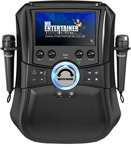 Mr Entertainer Megabox Bluetooth Karaoke Machine with