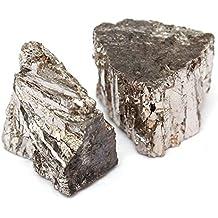 Lingotto di metallo bismuto 1 chilogrammo pezzo 99,99% puro