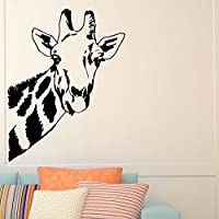Giraffe Wall Decal Safari Jungle Wild Animals Wall Decals Vinyl Stickers Living Room Bedroom Nursery Dorm Home Decor Wall Art Mural