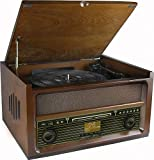 Soundmaster NR515 Nostalgie Musikcenter mit 75 Ohm Anschluss