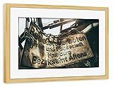 Gerahmt 30x20 cm Städte / Hamburg Altona Gerahmt kiefer seidenmattes Premium-Fotopapier - Wandbild Städte / Hamburg Kunstdruck von Tino Wichmann