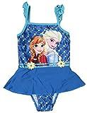 Disney Frozen Mädchen Badeanzug blau blau 8 Jahre
