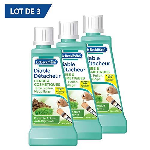 Dr.Beckmann - Diable Dtacheur Herbe/Terre / Maquillage - 50 ml - Lot de 3