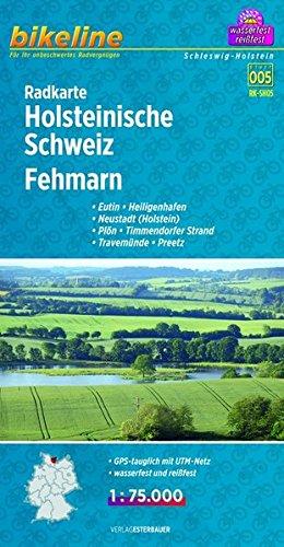 Holsteinische Schweiz / Fehmann Cycle Map 2013 por Bikeline