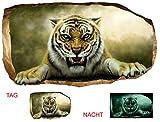 Startonight 3D Tapete Tiger, Wandmalerei Bild an der Wand Großformat Modern Muster Dekorative Kunst Wand 120 x 220 CM