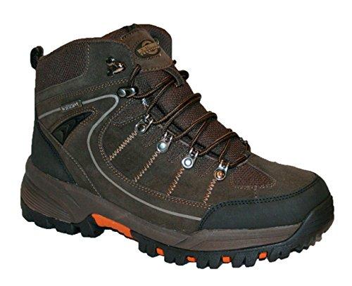 Northwest Territory Mens Rae - Stivale in pelle, impermeabile, per passeggiate, escursioni, trekking Brown