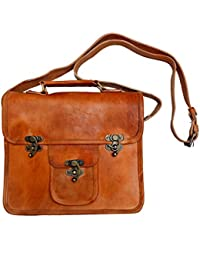 AD Passion Leather Stylish Sling Bag For Women And Girls (Brown) - B07FK576GV