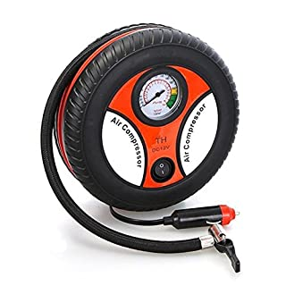 Anano Mini Portable Car Air Compressor 12V Auto Inflatable Pumps Electric Tire Inflators 260psi