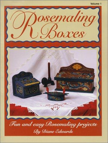 Rosemaling Boxes -